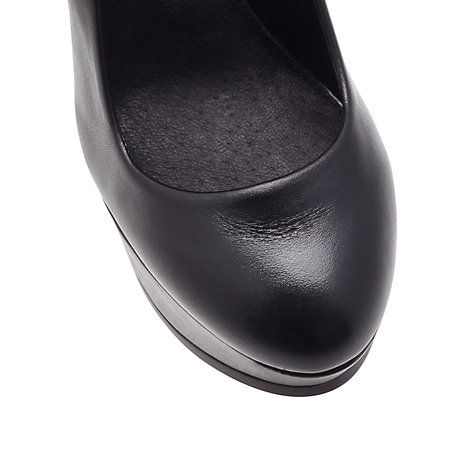 Buy KG by Kurt Geiger Ezra Platform Court Shoes Online at johnlewis.com