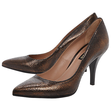 Buy Dune Black Amis Court Shoes Online at johnlewis.com