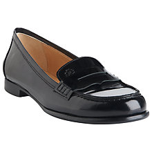 Buy L.K. Bennett Vera High Shine Loafers Online at johnlewis.com