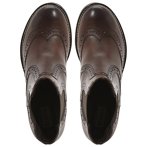 Buy Dune Prets Brogue Chelsea Boots Online at johnlewis.com