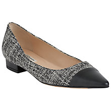 Buy L.K. Bennett Holly Flat Court Shoes Online at johnlewis.com