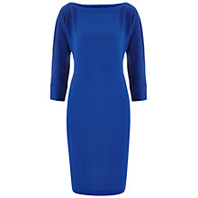 Buy Havren Batwing Shift Dress, Cobalt Online at johnlewis.com