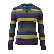 Buy Viyella Petite Mandarin Jumper, Multi Online at johnlewis.com