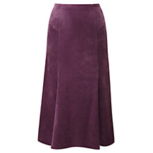 Buy Viyella Corduroy Skirt, Purple Online at johnlewis.com