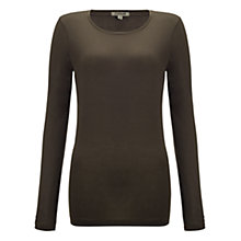 Buy Jigsaw Long Sleeve Crew Top Online at johnlewis.com