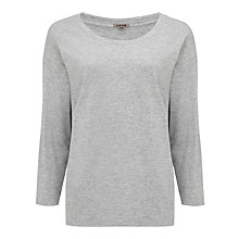 Buy Jigsaw Texture Cotton Slub Top Online at johnlewis.com