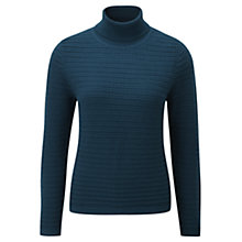 Buy Viyella Petite Textured Jumper, Teal Online at johnlewis.com