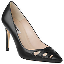 Buy L.K. Bennett Monique Cut Out Detail Court Shoes, Black Online at johnlewis.com