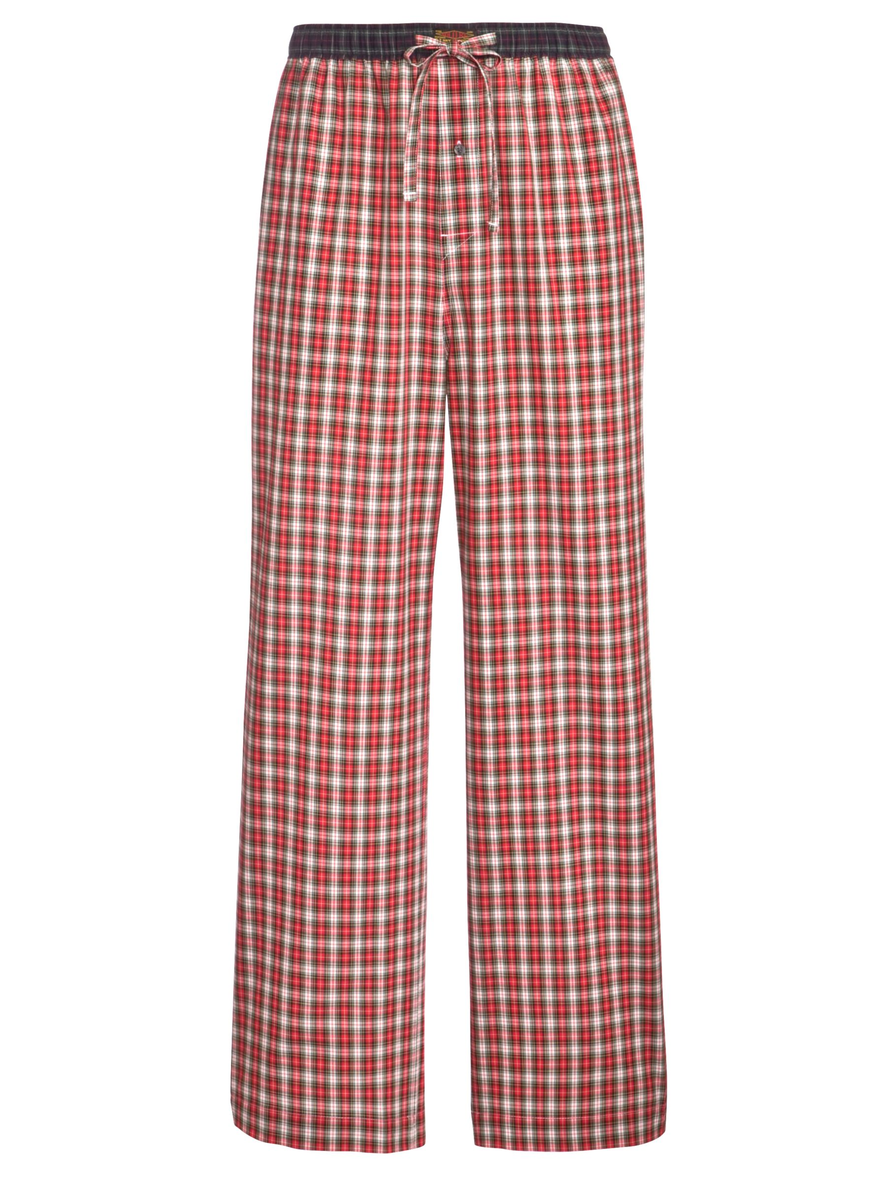 Polo Ralph Lauren Woven Plaid Pyjama Pants, Red