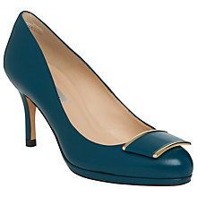 Buy L.K. Bennett Sydney Brooch Detail Court Shoes Online at johnlewis.com