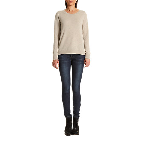 Buy Jigsaw Cashmere Sweatshirt Online at johnlewis.com