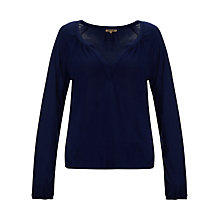 Buy Jigsaw Jersey Peasant Top Online at johnlewis.com