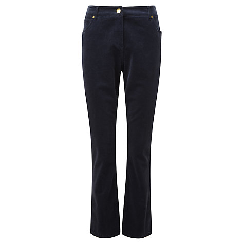 Buy Viyella Atlantic Cotton Corduroy Jean, Blue Online at johnlewis.com