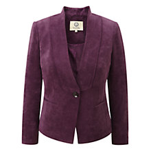 Buy Viyella Dansom Corduroy Jacket, Purple Online at johnlewis.com