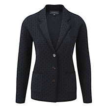 Buy Viyella Boiled Wool Jacquard Cardigan Online at johnlewis.com