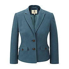 Buy Viyella Moleskin Jacket, Teal Online at johnlewis.com