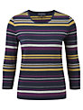 Viyella Posh Stripe Jersey Top, Multi