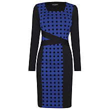 Buy James Lakeland Polka Dots Dress, Black/Blue Online at johnlewis.com