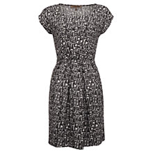 Buy Jigsaw Tile Print Dress, Grey Online at johnlewis.com