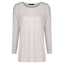 Buy Mango Metallic Knitted Jumper Online at johnlewis.com