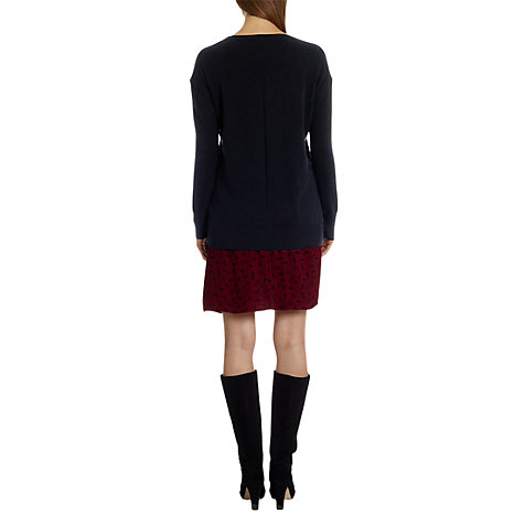 Buy Jigsaw Cashmere Slouch V-Neck Sweater Online at johnlewis.com