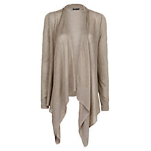 Buy Mango Metallic Detail Asymmetric Cardigan Online at johnlewis.com