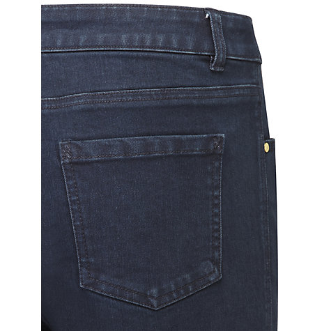 Buy Viyella Petite Overdyed Jeans, Blue Online at johnlewis.com