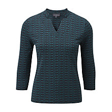 Buy Viyella Hexagon Print Top Online at johnlewis.com