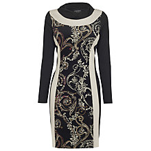Buy James Lakeland Central Dress, Black/Print Online at johnlewis.com