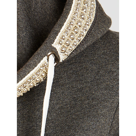 Buy Needle & Thread Studded Hoodie Online at johnlewis.com