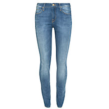 Buy Lee Scarlett Skinny Jeans, Blue Favourite Online at johnlewis.com