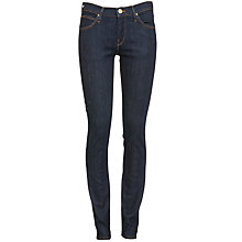 Buy Lee Jade Slim Leg Jean, Solid Blue Online at johnlewis.com