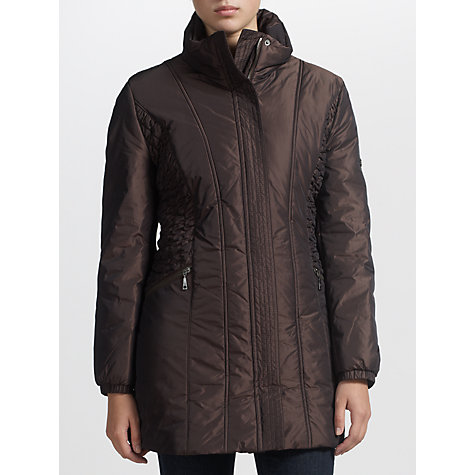 Buy Basler Ruch Pannelled Jacket, Bronze Online at johnlewis.com
