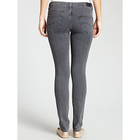 Buy Lee Jade Straight Leg Jeans, Pitch Grey Online at johnlewis.com