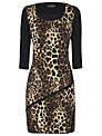 James Lakeland Leopard Print Dress, Leopard