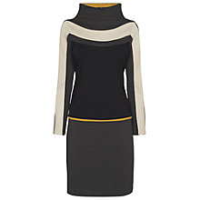 Buy James Lakeland Colour Block Dress, Grey/Mustard Online at johnlewis.com