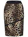 James Lakeland Leopard Print Skirt, Leopard