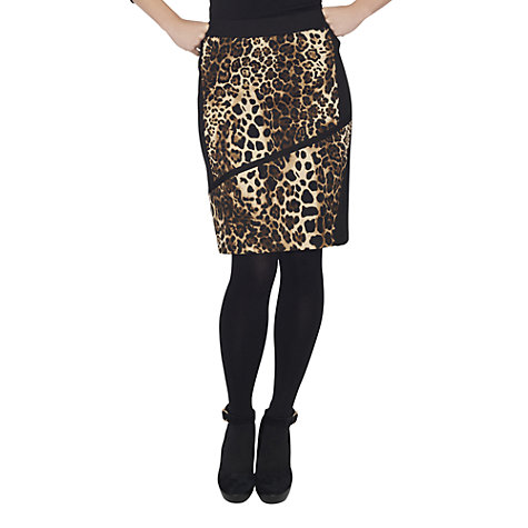 Buy James Lakeland Leopard Print Skirt, Leopard Online at johnlewis.com