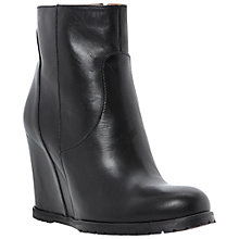 Buy Dune Black Peyron Wedged Ankle Boots Online at johnlewis.com