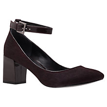Buy KG by Kurt Geiger Lauren Cuffed Court Shoes, Wine Online at johnlewis.com
