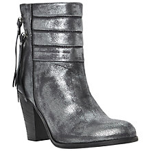 Buy Dune Black Shima Quilted Cuff Ankle Boots Online at johnlewis.com
