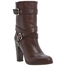 Buy Dune Black Rangel Calf Boots Online at johnlewis.com