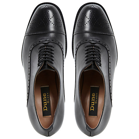 Buy Dune Black Agar Heeled Brogues Online at johnlewis.com