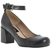 Buy Dune Black Ania Slingback Court Shoes, Black Online at johnlewis.com