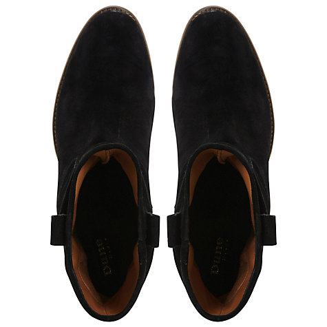 Buy Dune Black Pagana Slouch Suede Boots Online at johnlewis.com