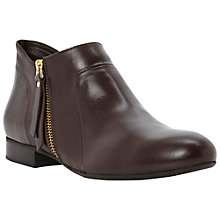 Buy Dune Black Pringle Leather Shoe Boots Online at johnlewis.com