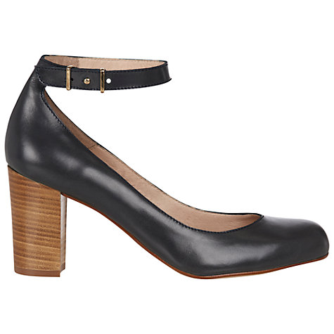 Buy Hobbs Corrine Slingback Court Shoes, Navy Online at johnlewis.com