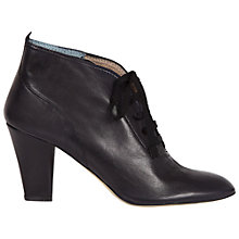 Buy Hobbs Camille Ankle Boots, Navy Online at johnlewis.com