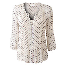 Buy East Ditsy Flower Blouse, Light Jutex Online at johnlewis.com