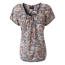 Buy East Azaria Print Blouse, Multi Online at johnlewis.com